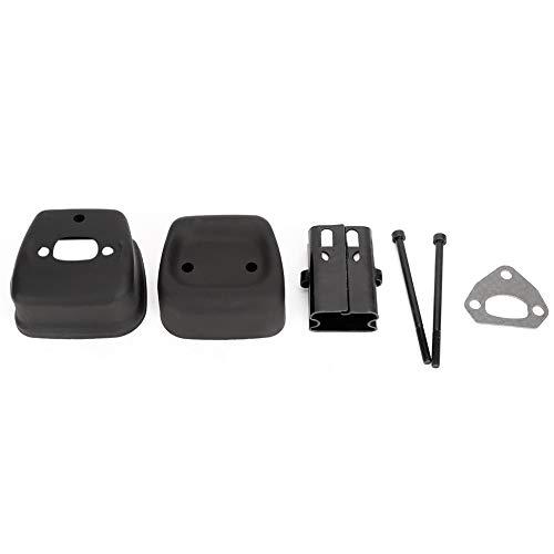 DyAn Muffler, Sumpler Escape Shield Shield Piezas De Repuesto Ajuste para Husqvarna 142 137 141 36 41