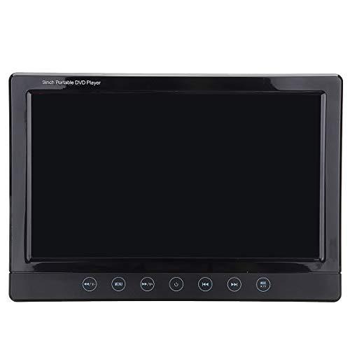 C-FUNN DVD-speler met hoofdsteun, universele DVD-speler voor auto, digitaal, 9 inch, afstandsbediening