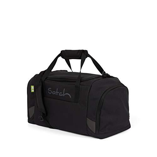 Satch Sporttasche - 25l, Schuhfach, gepolsterte Schultergurte - Blackjack - Black