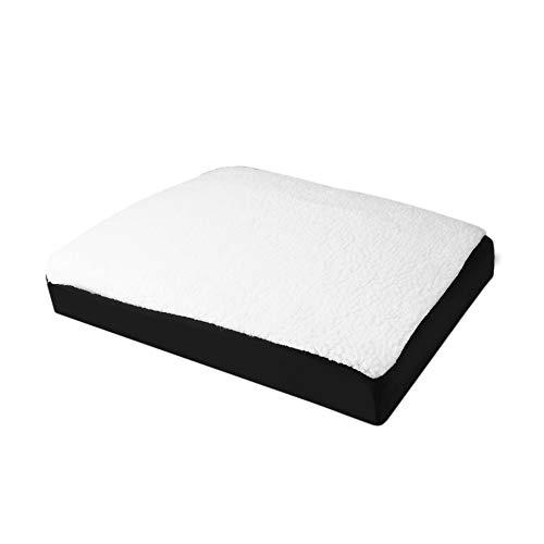 BlackUdragon Comfortabel Schuim En Gel Combinatie Kussen Zitkussen Lichtgewicht Voor Stoel Auto Kantoor Home Bottom Sit Pad