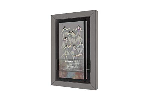 Moleskine - Cuaderno de la Colección Moleskine Studio, Cuaderno con Páginas Rayadas, Artista Sonia Alins, Tapa Dura, Tamaño Grande de 13 x 21 cm, 240 Páginas