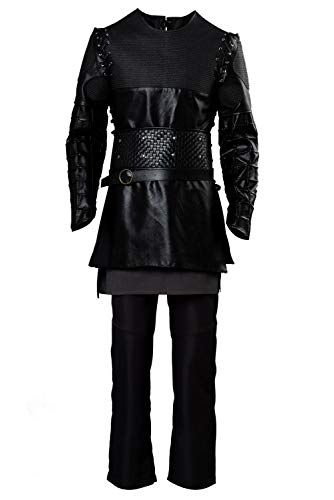 MingoTor Vikings Ragnar Lothbrok Disfraz Traje de Cosplay Ropa Hombre L
