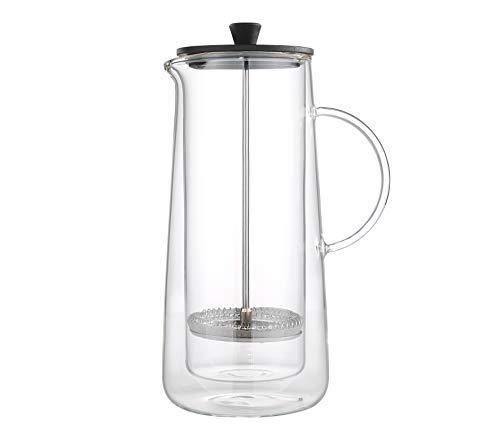 Zassenhaus M045024 Aroma Press Kaffeezubereiter, Glas