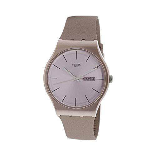 Swatch SUOP704 Pinkbayang - Reloj de cuarzo de silicona