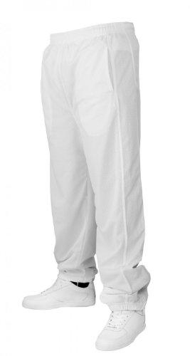 Urban Classics Mesh Long Pantalon de Sport White,