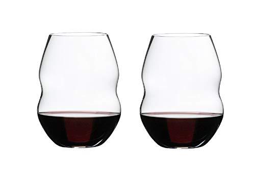 Riedel Swirl Wine Glass, Clear