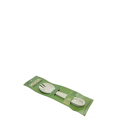 ecosoulife Husk Soul Spork Tenedor-cuchara de arroz casquillos Natural 100% biolog. biodegradable. Nuevo.