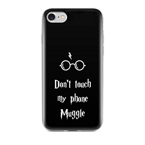 Finoo Handyhülle kompatibel für iPhone 7/8 - Hülle mit Motiv und Optimalen Schutz TPU Silikon Tasche Case Cover Schutzhülle - Dont Touch My Phone Muggle