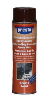 Unterbodenschutz auf Wachsbasis, hellbraun, 500 ml Spraydose
