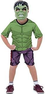 Fantasia Avg Hulk Curto Classico Gbl P - Pacote Com 01 Un Regina Colorida