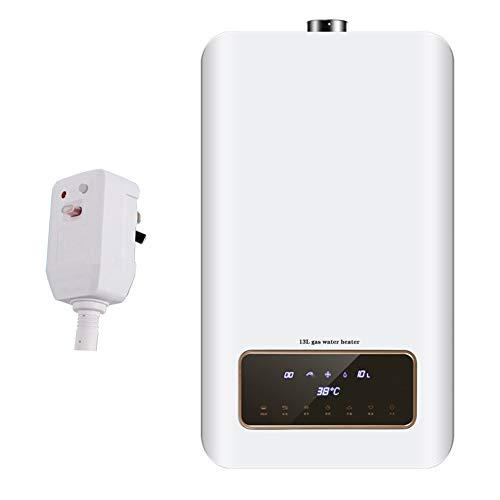 Stoge 13L Instant-Gas-Warmwasserbereiter 35KW LPG-Flüssigöl-Propan-Heißwasserkessel zur Wandmontage mit LED-Display-Leckagestecker