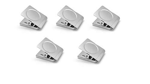 Magnetklammer Magnetclip Magnetklemme Magnet Klammer Pinnwand Kühlschrank 5 Stück