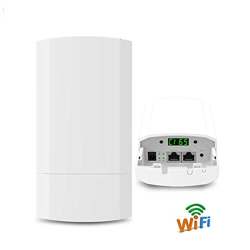 QWER Wifi Repeater 300 m Draadloze Cpe Bridge Router Wds Signaal zender Lift Monitoring Transmissie Wifi Brug 2 Pack