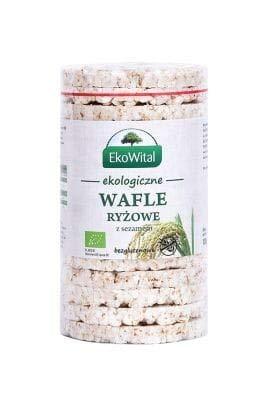 Obleas de arroz sin sal (sin gluten) BIO 100 g EkoWital