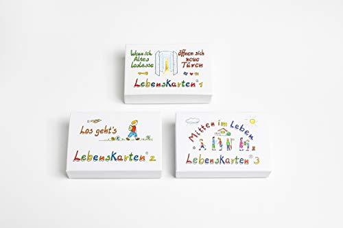 Lebenskarten Serien 1,2 und 3 im Gesamtpaket (216 Karten im Visitenkartenformat)