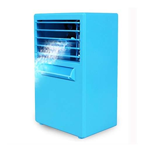 Ventilador de mano mini fan Ventilador eléctrico de escritorio de refrigeración por humidificación por pulverización de silencio multifunción, soporte de control de 3 velocidades, enchufe del Reino Un