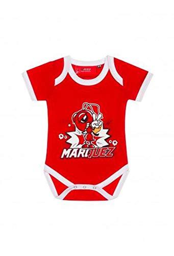 MotoGP Apparel Body Cartoon Ant, Rouge (Rouge Rouge), 18-24 Mois (Taille Fabricant: 92 cm) Mixte bébé
