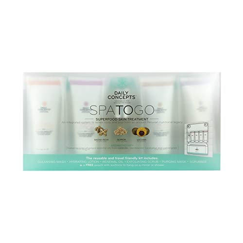 DAILY CONCEPTS Spa To Go Skin Treatment Set