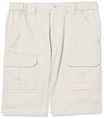 Savane Men's Hiking Shorts, Stone, 42
