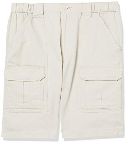 Savane Men's Hiking Shorts, Stone, 34