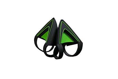 Razer Kitty Ears Katzenohren (für Razer Kraken Gaming Headsets einzigartiger Look und Design für jedes Razer Kraken) Grün