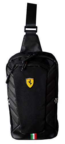 BDY Bag - Bolso Escolar Ferrari - Negro