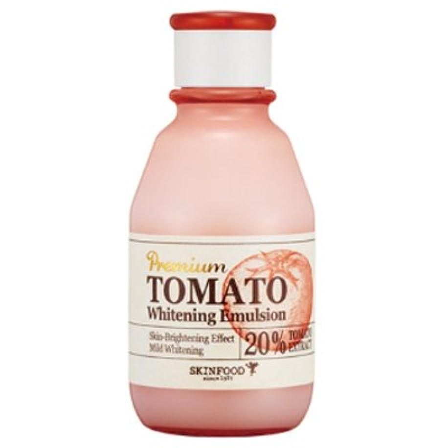 苦い器具パッチスキンフード SKIN FOOD プレミアム トマト ホワイトニング エマルジョン 140ml