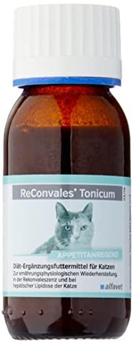 ReConvales®Tonicum Katze-Inhalt: 6 x 45 ml-Diät-Ergänzungsfuttermittel-Zur ernährungsphysiologischen Wiederherstellung, in der Rekonvaleszenz und bei hepatischer Lipidose der Katze