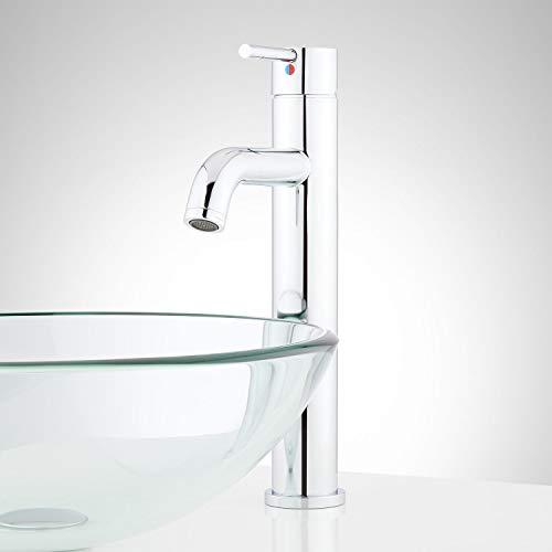 Signature Hardware 948601 Edenton 1.2 GPM Single Hole Vessel Bathroom Faucet