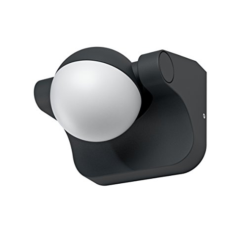 OSRAM - Spot extérieur LED ENDURA STYLE Sphère - 8W Equivalent 48W - Rotation 180° - Gris Anthracite - Garantie 5 ans