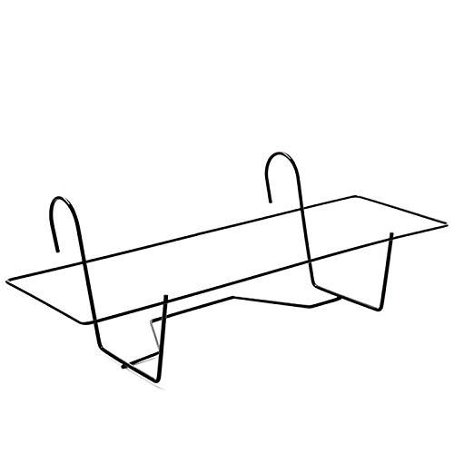 Acan Plastic Forte - Soporte Metal para Jardinera de balcón 60 cm