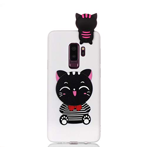 Funda para Samsung S9 Note 9 compatible con Coque Samsung Galaxy S9 Plus, funda suave 3D DIY muñeca Panda compatible con Samsung S9 S8 Plus S7 Edge Note 8 9