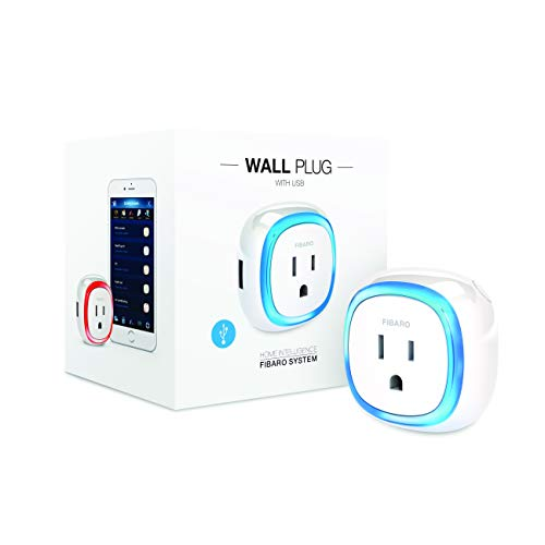 FIBARO Wall Plug with USB Charger Z-Wave Plus Intelligent Socket, FGWPB-121, doesn