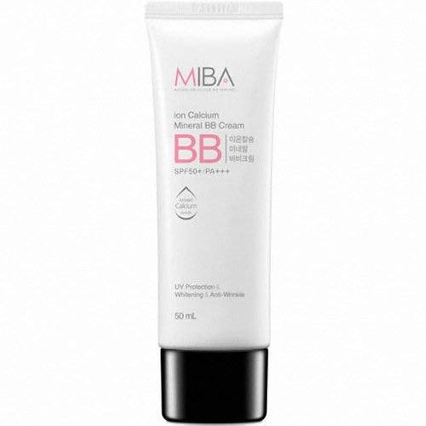 暗い大きさダムMINERALBIO ミバ イオン カルシウム ミネラル ビビクリーム/MIBA Ion Calcium Mineral BB Cream (50ml) [並行輸入品]