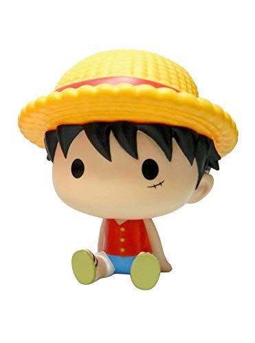 Plastoy One Piece Luffy Hucha Chibi, Multicolor, Size (80093)