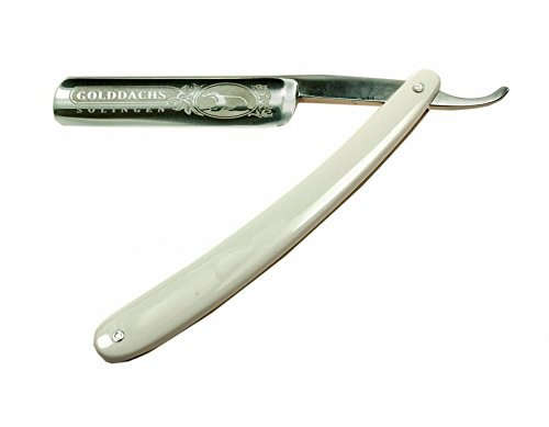 Golddachs Rasiermesser traditionell 5/8 zoll