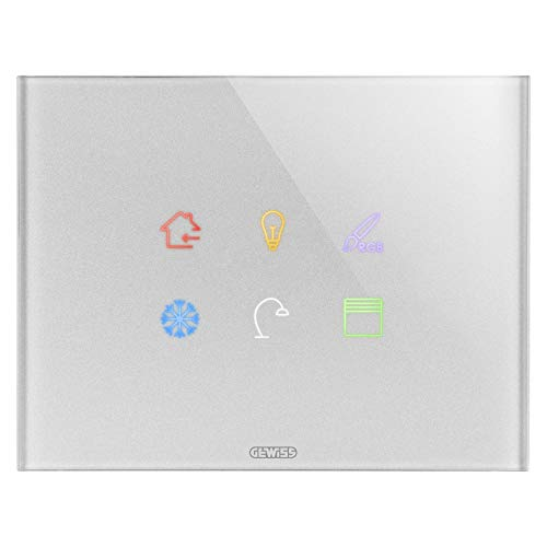 Gewiss chorus - Placa ice touch knx simbolo intercambiable t