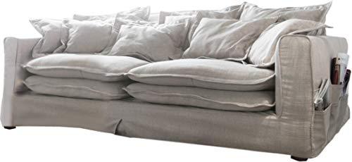 Big Sofa Noelia 240x145 cm mit Kissen Hussensofa Design Sofa
