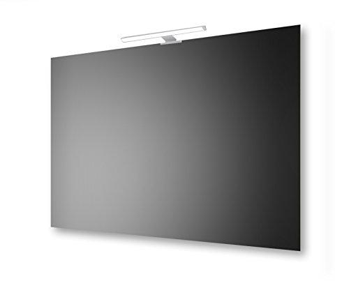 Specchio a filo lucido 100x70 cm San Marco con lampada led