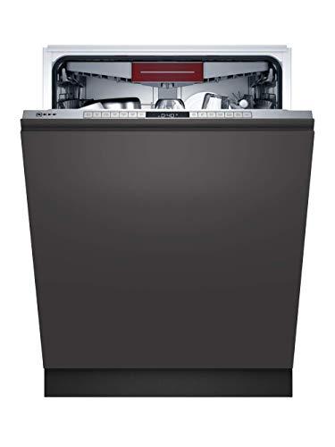 Neff S255HCX29E N 50 XXL-Vollintegrierter Geschirrspüler, 14 Maßgedecke, 60cm, edelstahl