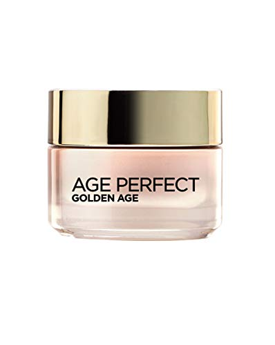 L'Oréal Paris Dermo Expertise - Age Perfect, crema rosa anti arrugas Golden Age, para pieles maduras, 50 ml
