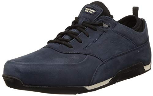 Woodland Men's Blue Leather Shoe-8 UK/India (42 EU) (GC2918118 Blue)