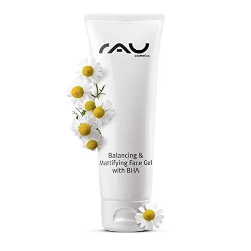 RAU Balancing & Mattifying Face Gel mit BHA 75 ml - Creme bei unreiner öliger Haut, Mitessern, Mischhaut