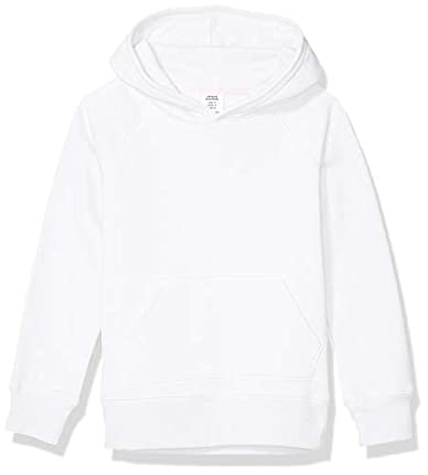 Amazon Essentials Pullover Hoodie Sweatshirt Fashion, Blanco, 4T