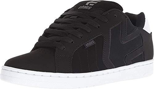 Etnies mens Fader 2 Skate Shoe, Black/White, 9.5 US