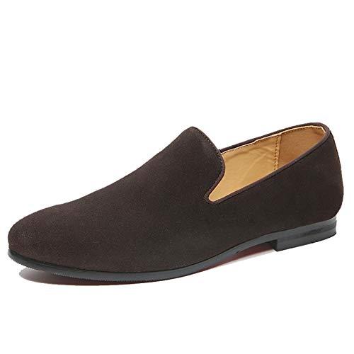 Mocasines para Hombre, Moda de Verano, Transpirable, Calzado de Corte bajo, Zapatos...