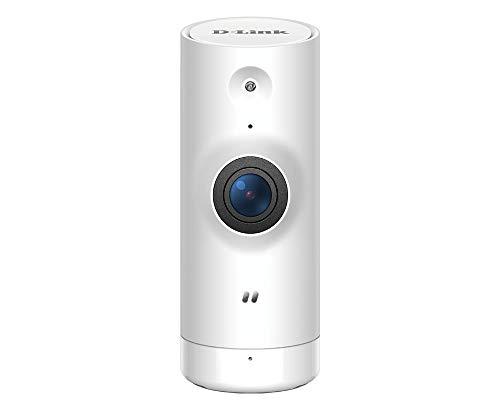 D-Link DCS-8000LHV2 Mini Telecamera Full HD con Intelligenza Artificiale, Wi-Fi, Visualizzazione Grandangolare 120°, 1080p, Nero