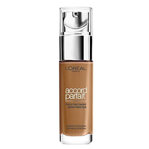 Loreal Accord Parfait Liquid Foundation 8d Capuccino Doré 30ml
