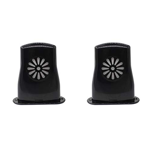 XtremeAmazing Pack of 2 Black Acoustic Guitar Humidifier Sound Holes Humidifier for...