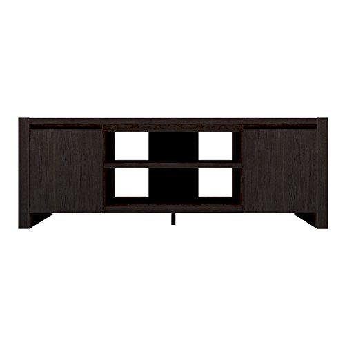Furniture 247 - Mueble para la televisión contemporáneo con 2 alacenas -...